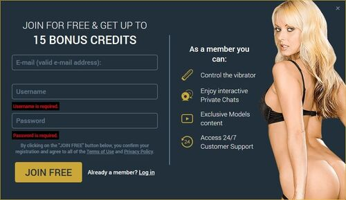 Become a member at Sexier for free and enjoy additional benefits